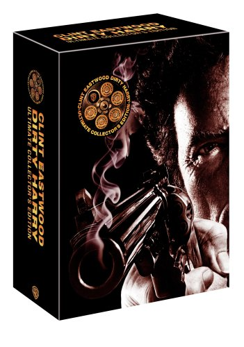 Cover art for  Dirty Harry Ultimate Collector's Edition (Dirty Harry / Magnum Force / The Enforcer / Sudden Impact / The Dead Pool)