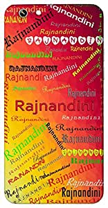 Rajnandini (Popular Girl Name) Name & Sign Printed All over customize & Personalized!! Protective back cover for your Smart Phone : Samsung Galaxy S6 Edge