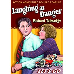 Action Adventure Double Feature: Laughing at Danger (1924) / Lets Go (1923) (Silent)