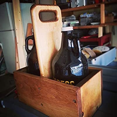 Handmade 64oz Beer Growler Carrier