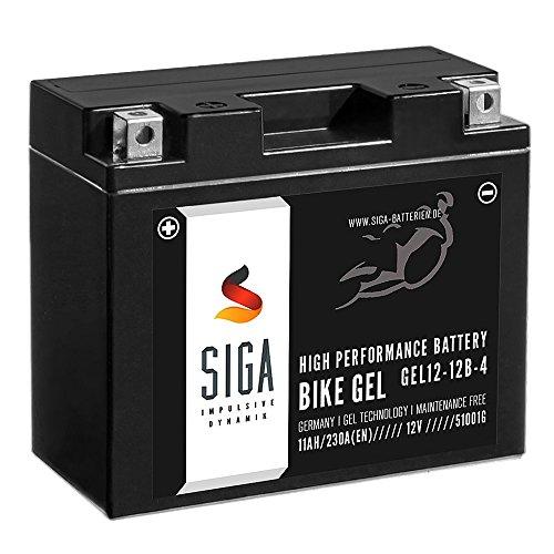 SIGA-Bike-GEL-YT12-B4-Motorrad-Batterie-12V-11Ah-230AEN-GEL12-12B-4-YT12B-BS-GT12-B4-51001