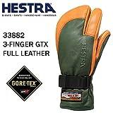 HESTRA(ヘストラ) ヘストラ スキーグローブ ミトン ゴアテックス 3-FINGER GTX FULL LEATHER/Forest/Natural Brown(33882-860700)(16-17 2017)hestra スキーグローブ 8