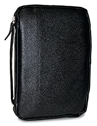 Divinity Boutique Bible Cover Leather Midnight Black, XXL (17359)