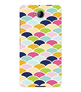 PrintVisa Pastel Colorful Pattern 3D Hard Polycarbonate Designer Back Case Cover for Nokia Lumia 650