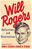 img - for Will Rogers: Reflections And Observations book / textbook / text book