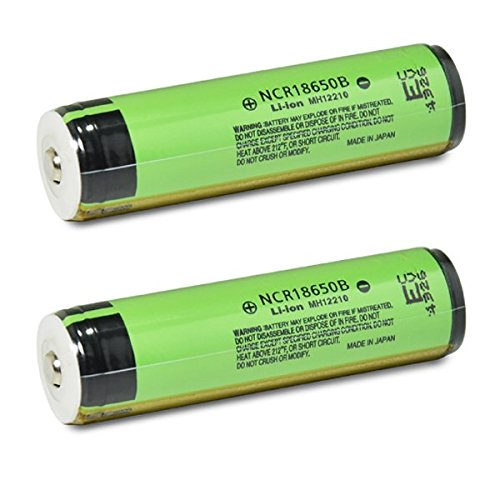 2 Panasonic NCR18650B 18650 3400mAh 3.7v Protected Button Top Batteries (Panasonic Pcb Board compare prices)
