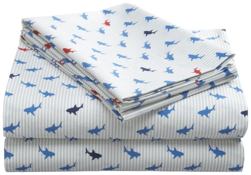 Tommy Hilfiger Shark Attack Sheet Set