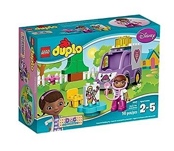 Lego Duplo Docteur La Peluche - 10605 - Jeu De Construction - Rosie L'ambulance