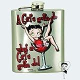 Betty Boop A Girls Gotta Do Hip Flask