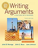 img - for Writing Arguments: A Rhetoric with Readings, MLA Update Edition (10th Edition) book / textbook / text book
