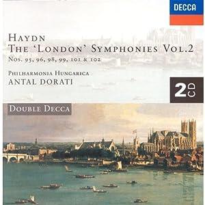 Haydn: London Symphonies V.2 Nos. 95, 96, 98, 99, 101, 102