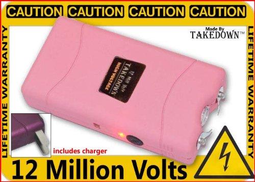 12 Million Volt Pink Stun Gun