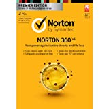 Norton 360 6.0 Premier 1 User / 3 PC [Old Version]
