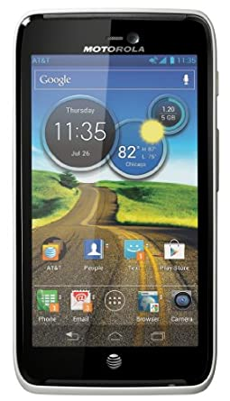 Motorola Atrix HD Android Phone, White (AT&T)