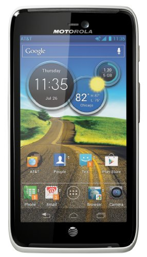 Motorola Atrix HD Android Phone, White (AT&T)