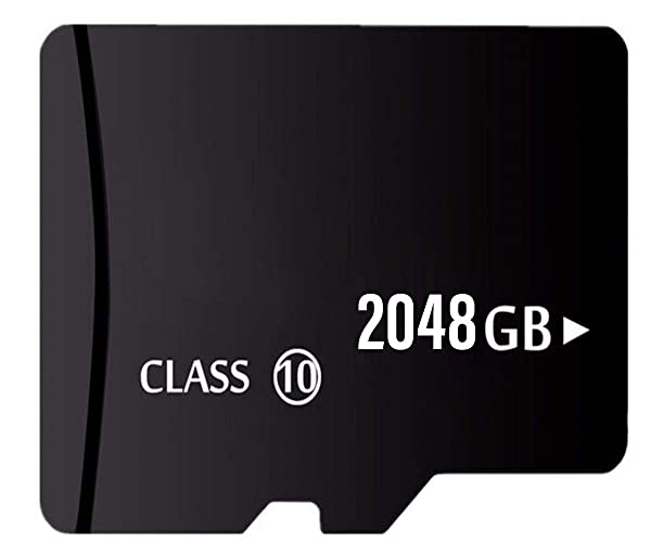 2TB Micro Memory Card with Adapter for 2TB Micro SD Card Slot.