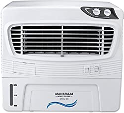 Maharaja Whiteline Arrow Deluxe CO-124 50-Litre Air Cooler (White/Grey)