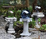 Fairy Gardening Mini Gazing Ball Picks (Set of 3)