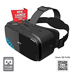 MTT 3D Virtual Reality Headset Glass - Advanced VR for iPhone 7 / 6s /6 / 5 , Samsung, Motorola, Lenovo, Xiaomi, Nexus, OnePlus, Sony Smartphones