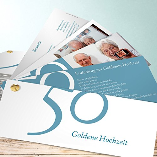 einladungskarten goldene hochzeit selbst gestalten 50. Black Bedroom Furniture Sets. Home Design Ideas