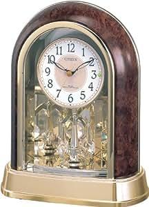 CITIZEN (シチズン) 置き時計 パルドリームR656 電波時計 4RY656-023