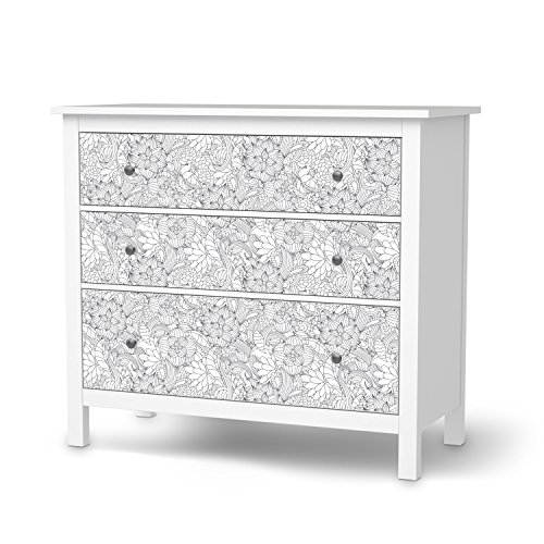 m belfolie selbstklebend f r ikea hemnes kommode 3. Black Bedroom Furniture Sets. Home Design Ideas