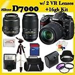 Pro Pack: Includes Nikon D7000 16.2MP...