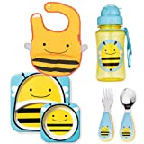 Skip Hop Zoo Mealtime Sets - With Bib, Plate, Bowl, Utensils, & Sippy Cups!!!