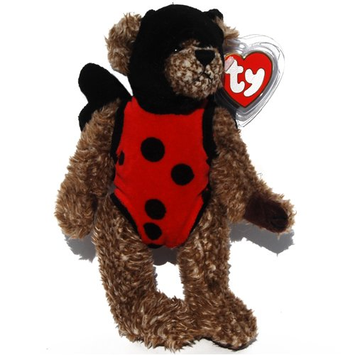 Ty Attic Treasures - Bugsy the Teddy Bear Ladybug