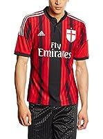 adidas Camiseta de Fútbol Acm H Jsy (Rojo)