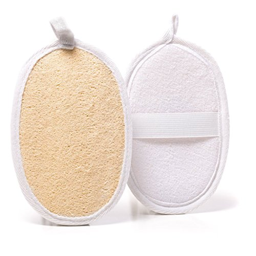 exfoliating-natural-loofah-hand-pads-2-pack-set-with-hook-natural-exfoliating-body-scrubber-for-show