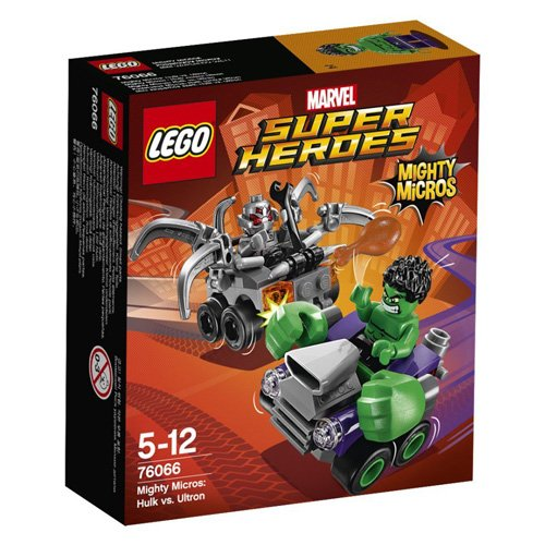 LEGO 76066 - Figurine Super Heroes Mighty Micros Hulk Vs Ultron
