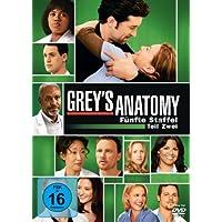 Grey's Anatomy: Die jungen �rzte - F�nfte Staffel, Teil Zwei [4 DVDs]