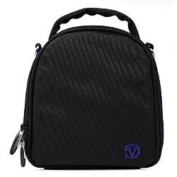 VanGoddy Laurel DSLR Camera Carrying Bag with Removable Shoulder Strap for Fujifilm FinePix S4500 Digital SLR Camera (Magic Blue)