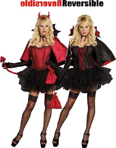 Devil's Night with a Bite Costume - Small - Dress Size 2-6
