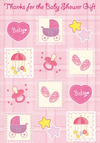 Baby Shower Gift (Baby Things) Thank You Cards