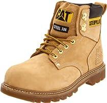 Hot Sale Caterpillar Men's Second Shift ST Work Boot,Honey,8 M US