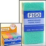 1 x Bimsschwamm FIGO 100 x 50 x 25mm, 1 aus 4 Farben