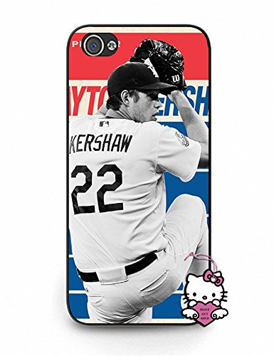 Iphone 5 5S Case, Modern Iphone 5S Case [Clayton Kershaw] Ultra Slim Case Cover for Iphone 5S - for Boys (Iphone 5 Clayton Kershaw Case compare prices)