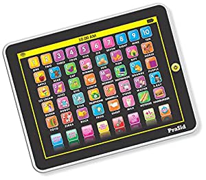 PraSid My Smart Pad English Learning Tablet for Kids Indian Voice