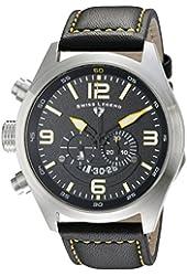 Swiss Legend Men's 10020-01-YA Highlander Analog Display Swiss Quartz Black Watch
