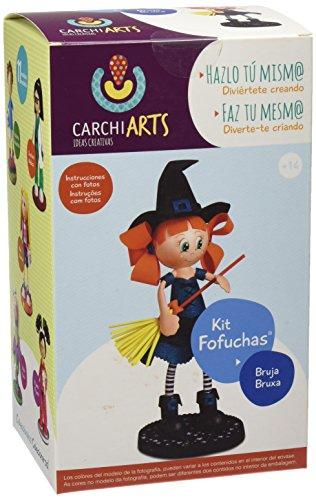 Fofuchas - Kit creativo bruja (Carchivo 70011100)