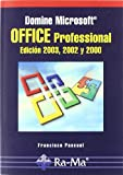 img - for Domine Microsoft Office Professional 2003 book / textbook / text book