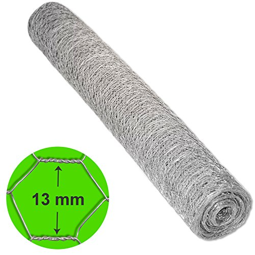 casa-pura-silver-13-mm-hexagonal-wire-mesh-length-and-height-selectable-1m-x-10m