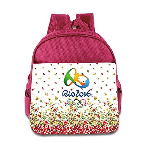 2016 Summer Olympics Logo Kids School Backpack Bag