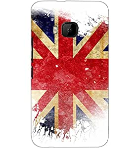 HTC ONE M9S FLAG Back Cover by PRINTSWAG