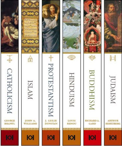 Library of World Religions: Hinduism, Protestantism, Buddhism, Judaism, Islam, and Catholicism (6 Volumes)