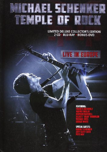 Temple Of Rock - Live In Europe (Limited Deluxe Edition)