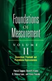 img - for Foundations of Measurement Volume II: Geometrical, Threshold, and Probabilistic Representations (Dover Books on Mathematics) book / textbook / text book