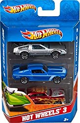 Mattel Hot Wheels (3 pack) Design may vary